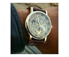 Rolex Skeleton Automatic Watch For Men Delivery all Over Pakistan