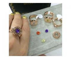 Rings With Beautiful stones In Italian Designs For Sale