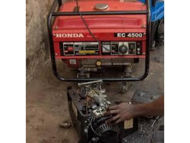 generator mechanic staff required for our company in karachi