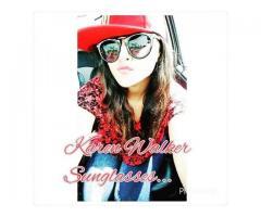 Karen Walker Sunglasses In Black And leopard Color Cash On Delivery