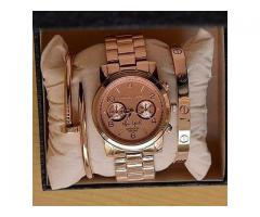 MK New York Watch and Cartier Love Bangles For Sale Home Delivery