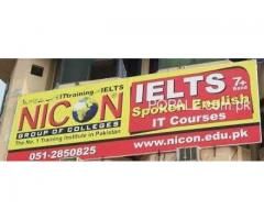 TOEFL And IELTS Classes In Nicon Institute Islamabad