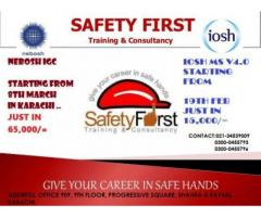 Safety Officer International General Certification Classes In Karachi