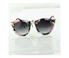 Cat eye Arrow Sunglasses For Girls Printed Frame Cash On Delivery