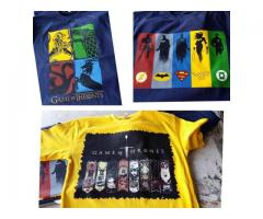 Pack Of Three T-shirts , Discount Offer For Sale Cash On Delivery