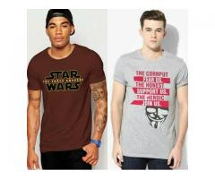 Pack Of Two Beautiful T-Shirts For Gents For Sale Cash On Delivery