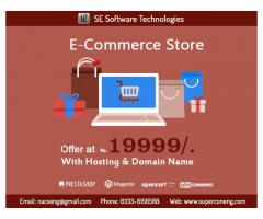 E-Commerce Web Development Offer at Rs. 19999/-
