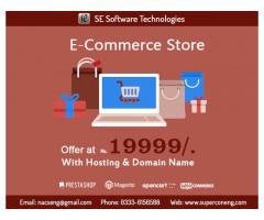 E-Commerce Web Development Offer at Rs. 19999/-
