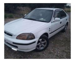 Honda Civic White Color Good Condition For Sale In Kohat