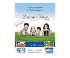 Country Homes Lahore Payment Plans Of Plots, booking Detail