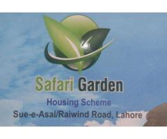 Safari Garden Housing Scheme Lahore Payment Plans Of Plots