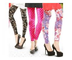 Pack Of Three Printed Tights For Girls Colors Available For Sale