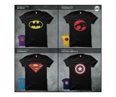 Pack Of Four T-shirts Black color Half Sleeves Delivery Available