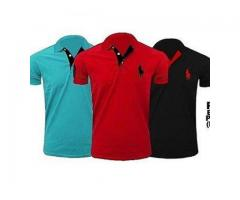 New Offer Pack Of Three Ralph Lauren Polo T-shirts For Sale