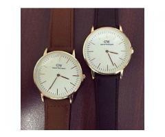 Daniel Wellington Watch For Ladies And Gents, Delivery Available