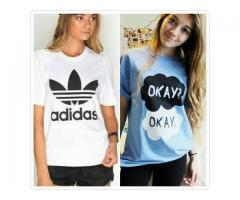 Pack Of Two T-shirts For Girls Colors Available Cash On Delivery