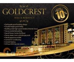 Booking and Payment Plan for Goldcrest Mall and Residency DHA Lahore