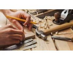 Carpenters Staff Required For Our Project In Gujranwala
