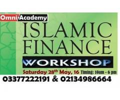 Islamic Banking & Finance Workshop Get Certificate, Classes In Karachi