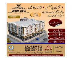 Booking Details Of Crown Vista Islamabad, 2 Years Easy Installments