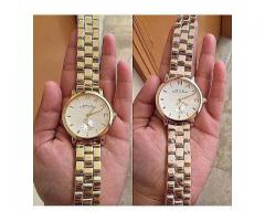 Marc Watches Golden Color High Quality For Sale Cash On Delivery