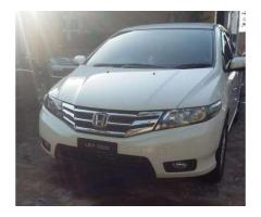 Honda City White Color Model 2015 For Sale In Lahore