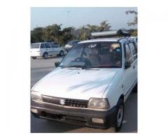 Suzuki Mehran White Model 1989 Good Condition For Sale in Islamabad