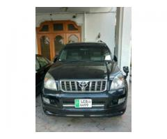 Toyota Prado 2007 Black Color Powerful Engine For Sale in Lahore