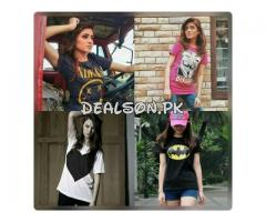 Pack Of 4 T-shirts For Girls Just In 1499 Home Delivery Available