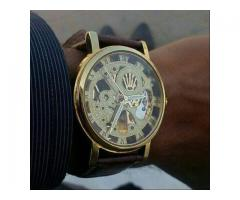 Automatic Watch By Rolex Skeleton For Gents For Sale Cash On Delivery