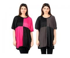 Pack Of Two Casual Tops Colors Available for Sale Cash On Delivery