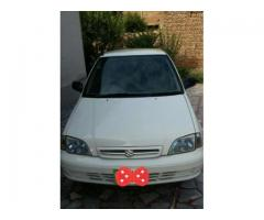Suzuki Cultus White Color Model 2007 For Sale In Peshawar