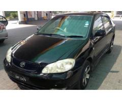 Toyota Carolla Altis Black Color Model 2006 For Sale In Lahore