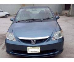 Honda City Model 2004 Neat And Clean Car For Sale in Peshawar