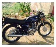 Suzuki GS 150 cc Black Color Model 2014 For Sale In Lahore