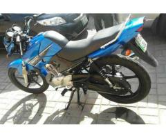 Yamaha YBR Blue Color Almost New Bike 2015 Model For Sale in Sialkot
