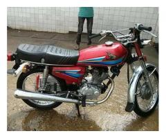 Honda Cg 125 Model 2007 Red Color for Sale In Karachi