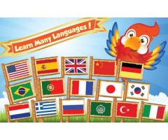 Learn Arabic, Turkish, Russian, Portuguese languages, notes available