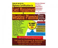 Diploma Certification in Event Management & Wedding Planning