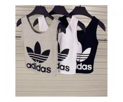 Pack Of 2 Adidas Croptops For Sale Cash On Delivery