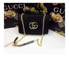 GUCCI Ladies Bags With New Style Black Color For Sale Cash on Delivery