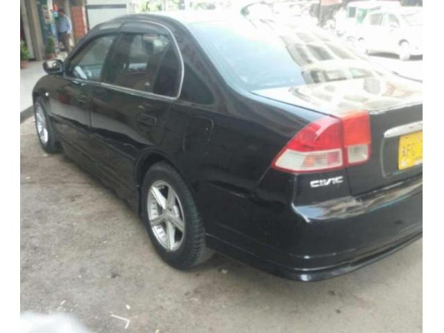 Honda Civic Black Color Model 2003 For Sale In Karachi Karachi