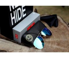 Beautiful Sunglasses By Rayban Aviators With Original Box For Sale