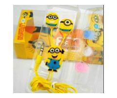Minion Earphones With Clear Voice Home Delivery Available In Pakistan