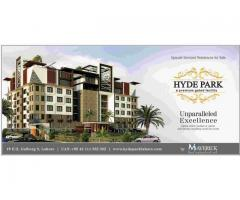 Hyde Park Lahore Gulberg III Different Size Of Apartments Available