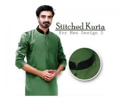 Stitched Kurta's For Men Design 2 Size Available For Sale Cash On Delivery