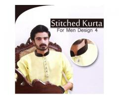 Stitched Kurta For Men For this Eid Size Available Cash On Delivery