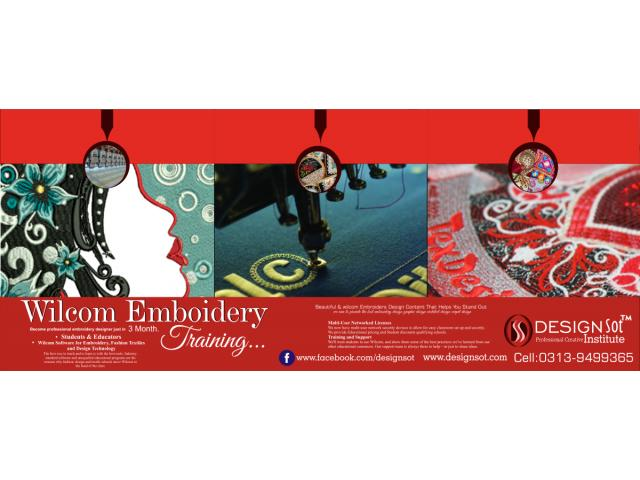 Training in upcoming Wilcom Software like Embroidery Studio e2 and
