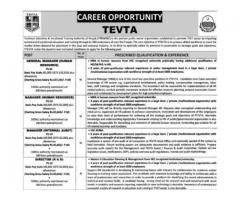 Technical Education & Vocational Training Authority Jobs 2016 Lahore