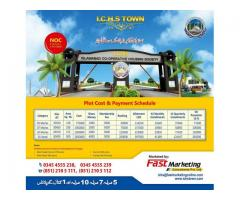 I.C.H.S Town Islamabad Plot Cost And Payment Schedule Plots On Installments